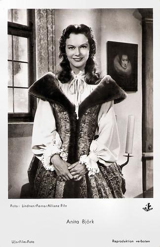 Anita Björk in Der Cornet - Die Weise von Liebe und Tod (1955)