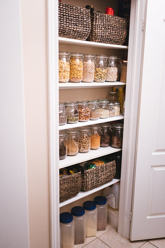 pantry organization on a budget | by Get Kamfortable