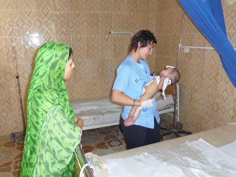 Cooperantes médicos en acción