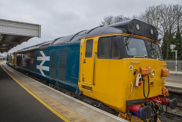 50049 on 0Z50 09:40 Kidderminster S.V.R. to East Grinstead