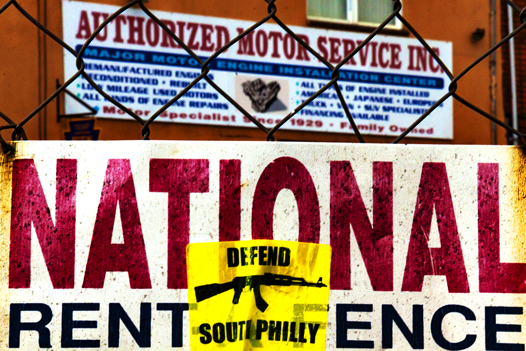 DEFEND SOUTH PHILLY--Passyunk Square