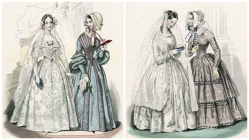 Журнал мод 1840е