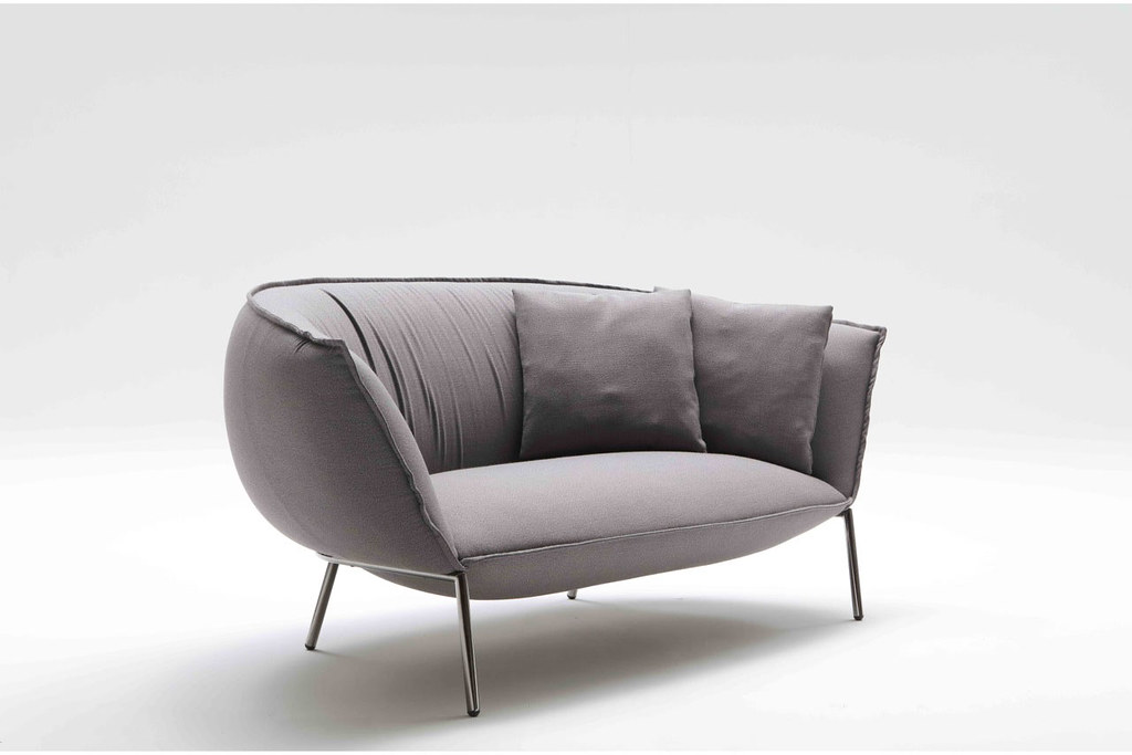 comfortable modern sofa and lounge chair by luca nichetto for coedition