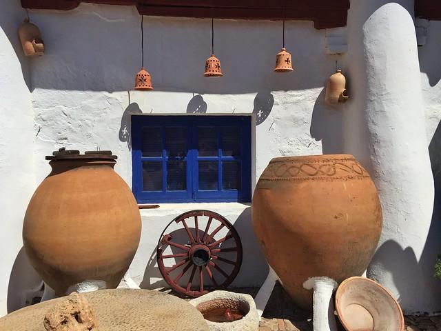 Detalle de La Venta del Quijote en Puerto Lápice
