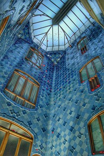 Patio central, Casa Batlló. | by Sergi Huesca