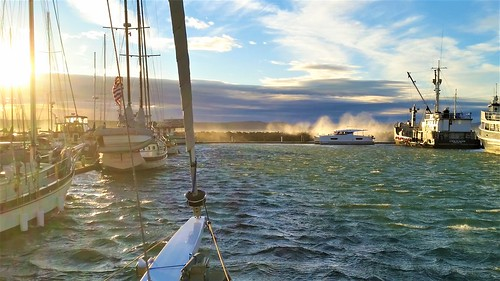 haulout wind delay | by Sailing P & G
