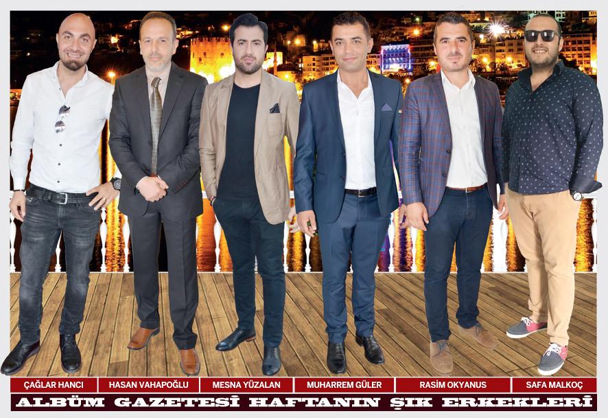 Çağlar Hancı, Hasan Vahapoğlu, Mesna Yüzalan, Muharrem Güler, Rasim Okyanus, Safa Malkoç