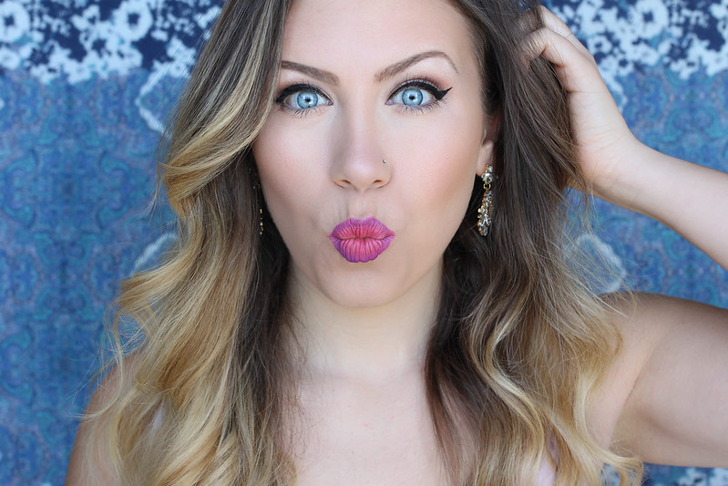 How to Do an Ombre Lip with Maybelline | Hot Pink Ombre Lip Makeup with Lip Liner Tutorial
