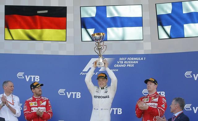 F1 -Russia - Bottas win