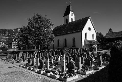 Friedhof, Sevelen