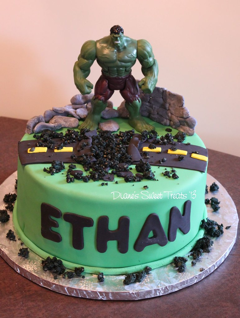 The Hulk Birthday Cake Ideas