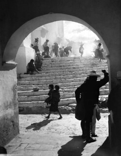 Venerated steps of Iglesia San Tomás: Chichicastenango, Guatemala | by State Library and Archives of Florida