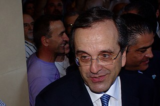 Antonis Samaras, prime minister of Greece. | by Teacher Dude's BBQ