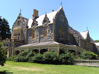 Abercrombie House a 50 roomed mansion built for a local Scottish family in the 1870s near Bathurst New South Wales. Made of everlasting granite stone. | by denisbin