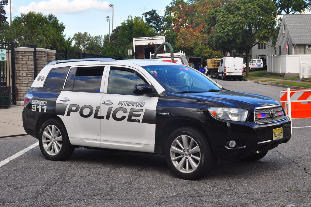Rutherford Police Toyota Highlander Rmp Triborough Flickr