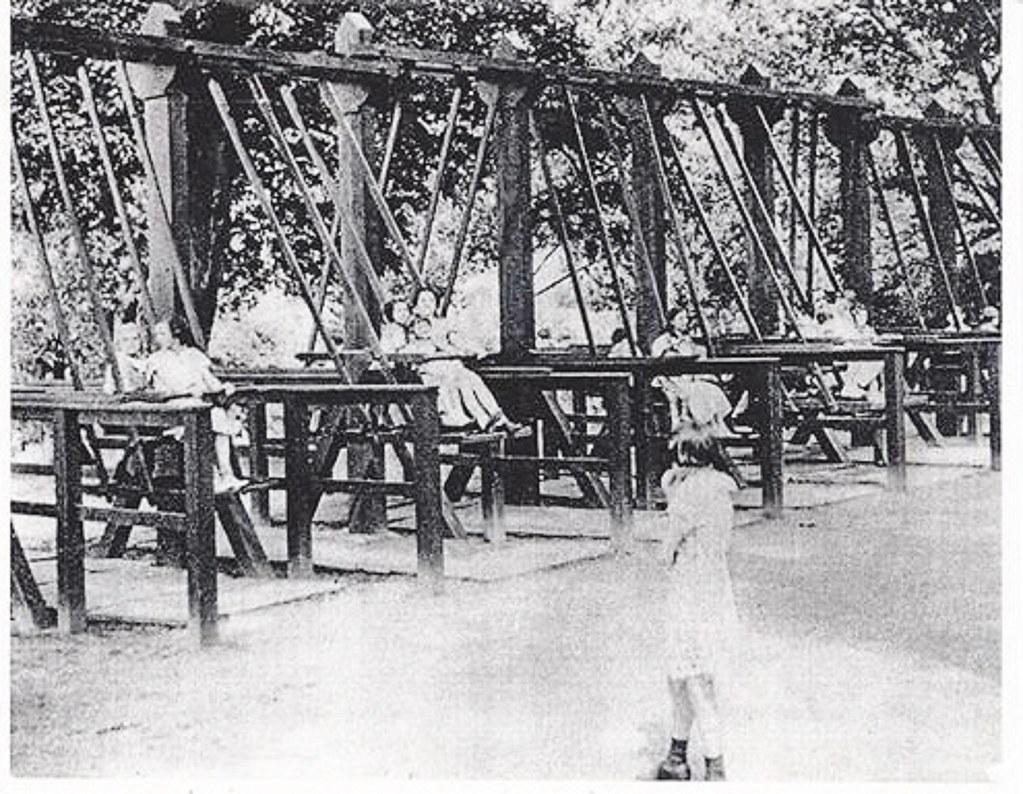 washington park old wood swings albany ny 1920s contribute u2026 flickr