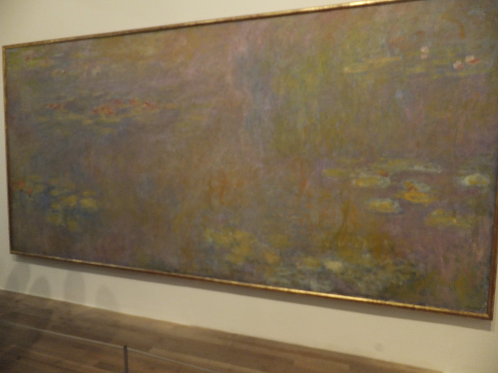 water lilies after 1916 by claude monet tate modern flickr