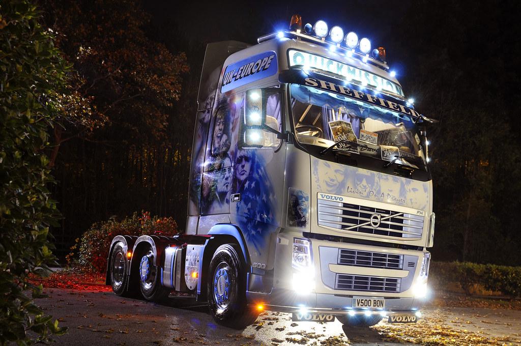 Bon Jovi Custom Paint Truck 3 Dave Needham From