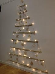 Vianne's RL 2D Wall Christmas Tree | Using Bamboo, fishing w… | Flickr