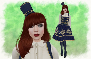 Violent Seduction Blue Star Lolita Outfit | by Salome Strangelove