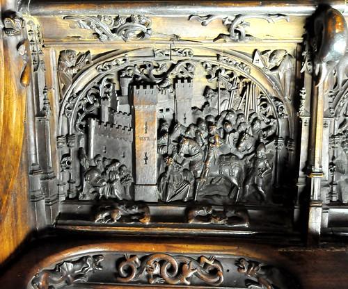 Catedral de toledo coro siller a baja relieve de la con - Abella granada ...
