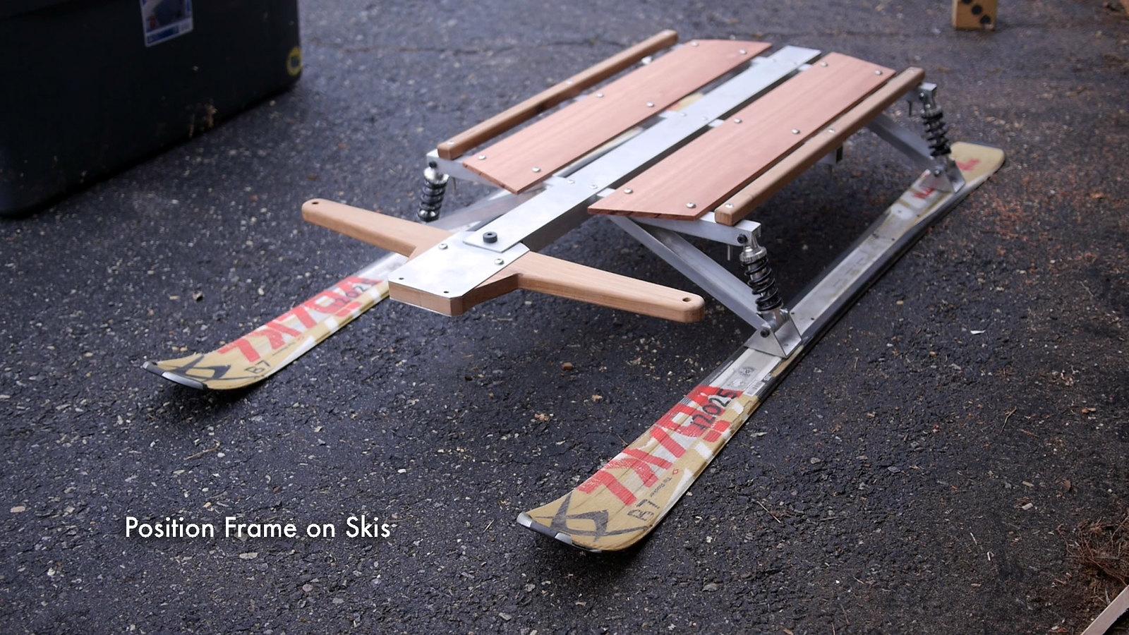 Position Frame on Skis