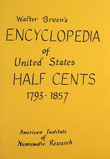 Breen Half Cent manuscript