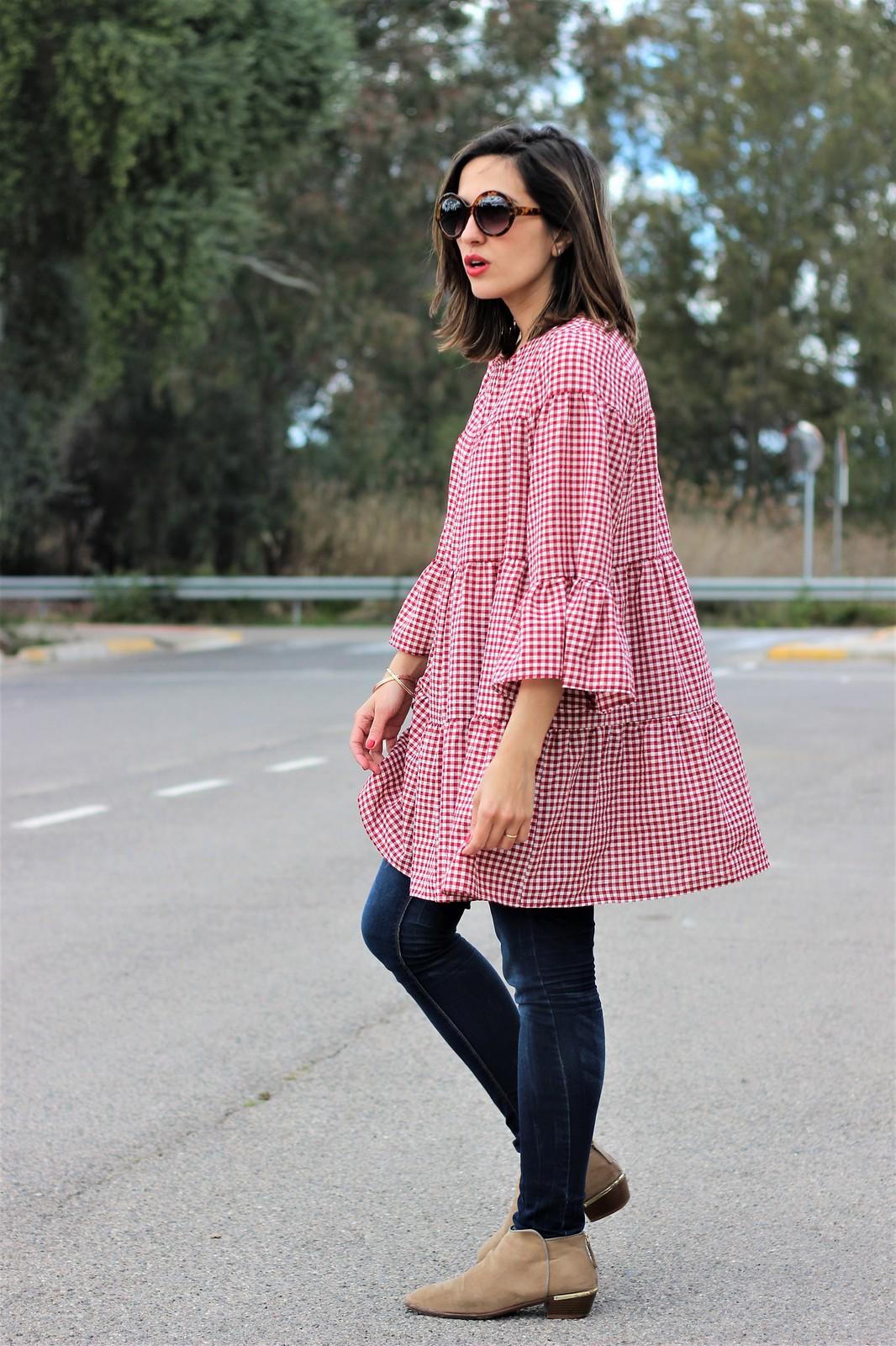 Look cuadros vichy rojo_ Rojo Valentino Blog (12)