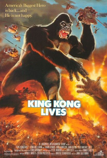 King Kong Lives - Poster 1