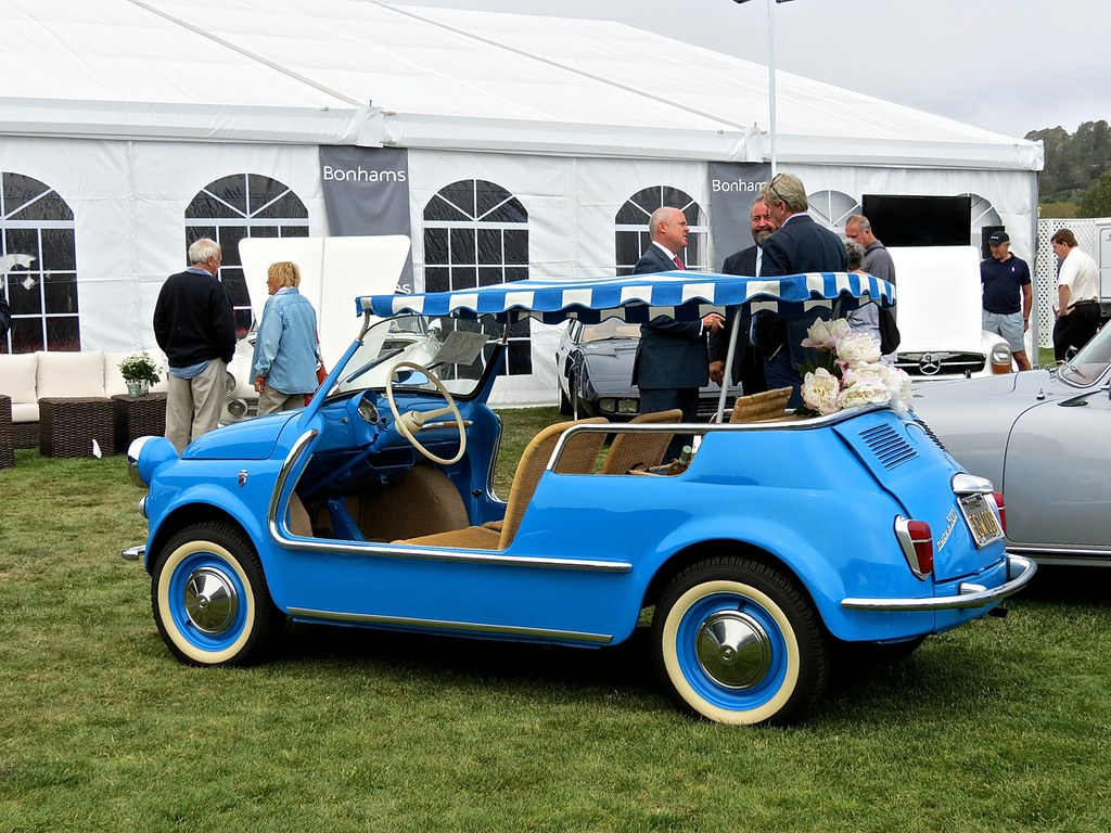 Blue Fiat Jolly 2