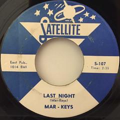 MAR-KEYS:LAST NIGHT(LABEL SIDE-A)