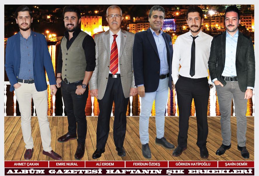 Ahmet Çakan, Emre Nural, Ali Erdem, Feridun Özdeş, Görkem Hatipoğlu, Şahin Demir
