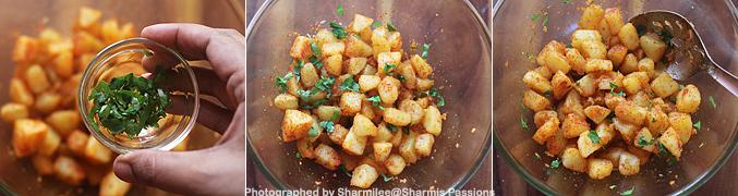 How to make Aloo Chaat Recipe - Step5