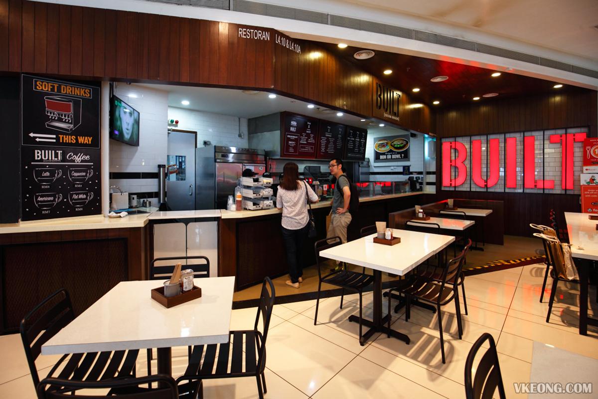 BUILT Burger Nu Sentral