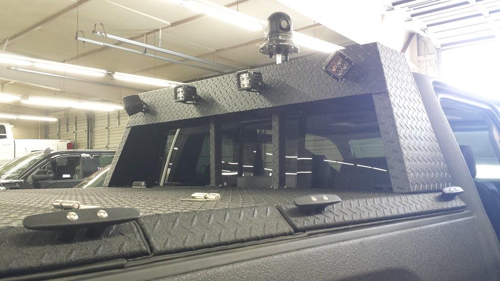 New Chevy Silverado >> A Heavy Duty Cover With Custom Headache Rack On A Chevy/GM… | Flickr