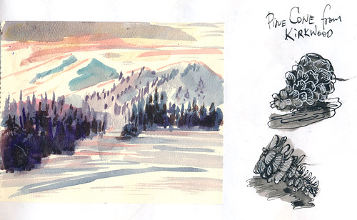 Sketchbook #102: Skiing Trip