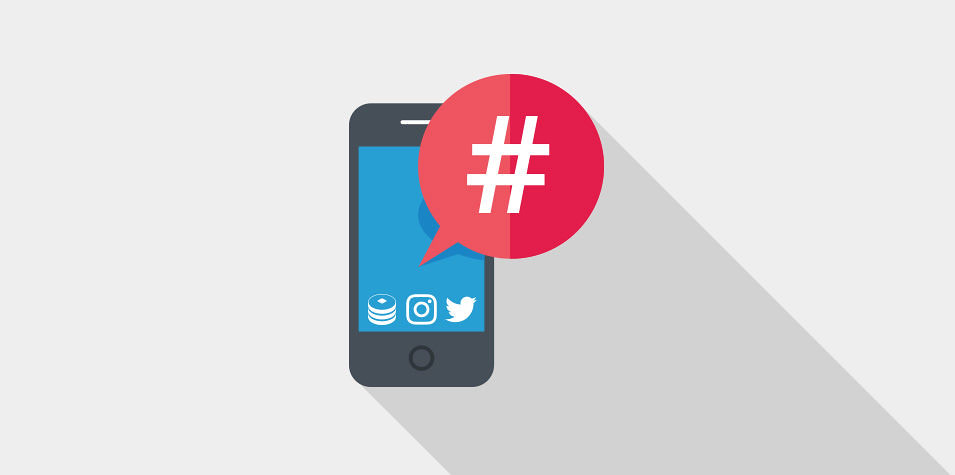 Guía para utilizar los hashtag en redes sociales portada
