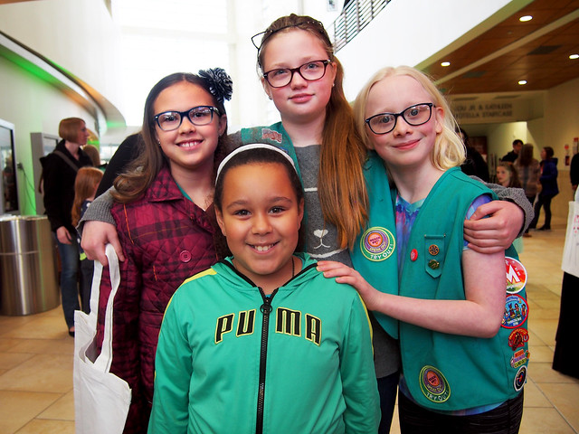 2017 artVenture Omaha Girl Reception