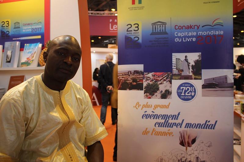 Sansy Kaba Diakité, commissaire général de Conakry, capitale mondiale du livre - Salon du Livre de Paris 2017