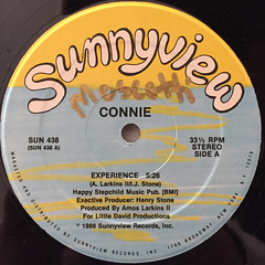 CONNIE:EXPERIENCE(LABEL SIDE-A)