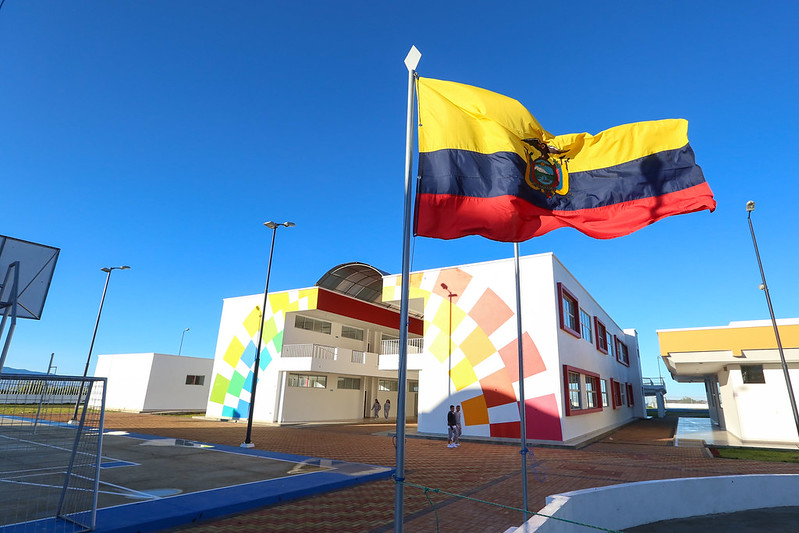 Inauguración UEM Celica Provincia de Loja