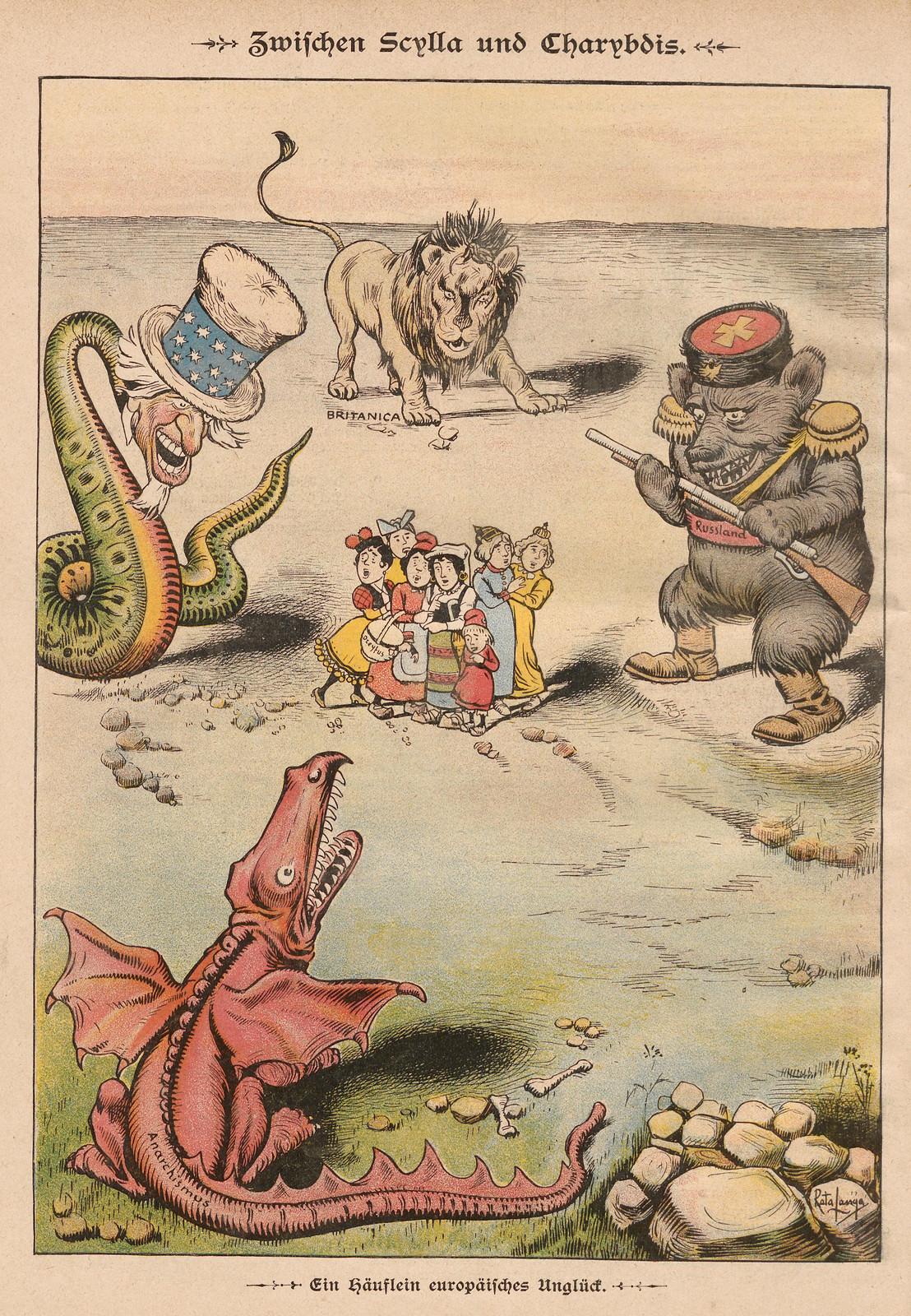 Rata Langa - Between Scylla and Charybdis, 1899