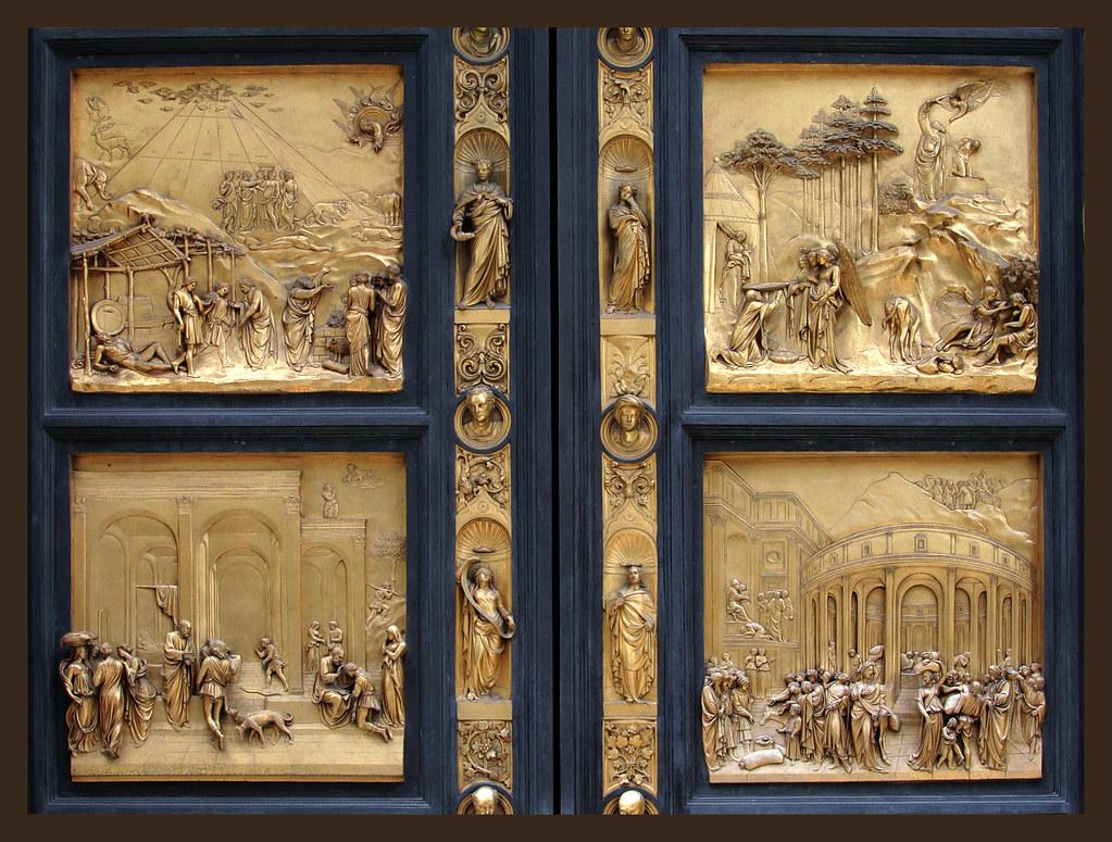 ... Florence Baptistry - Ghibertiu0027s Bronze Doors   by L.Clark Photography & Florence Baptistry - Ghibertiu0027s Bronze Doors   Loren Clark   Flickr