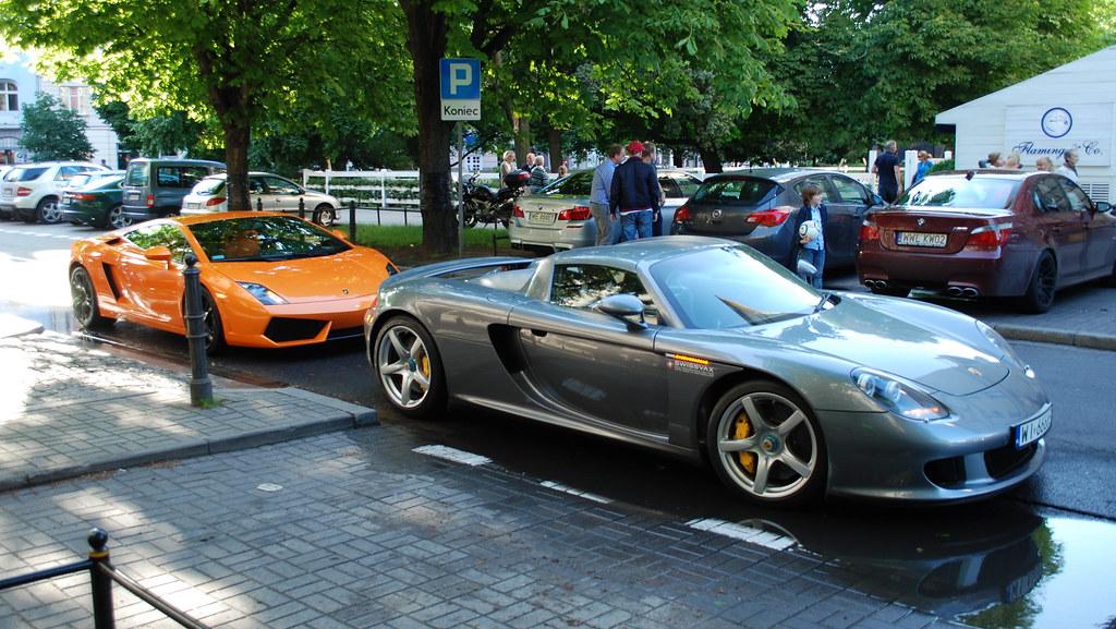 ... Porsche Carrera GT, Lamborghini Gallardo LP560 4, BMW M5 F10, BMW M5