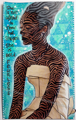 She Has Stripes: ICAD3 JUNE 3rd | by Vickie @ In My Head Studios
