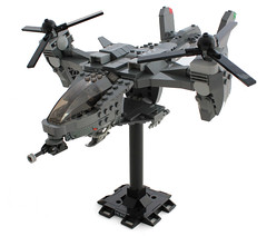 UNSC Falcon. by Lego Junkie.