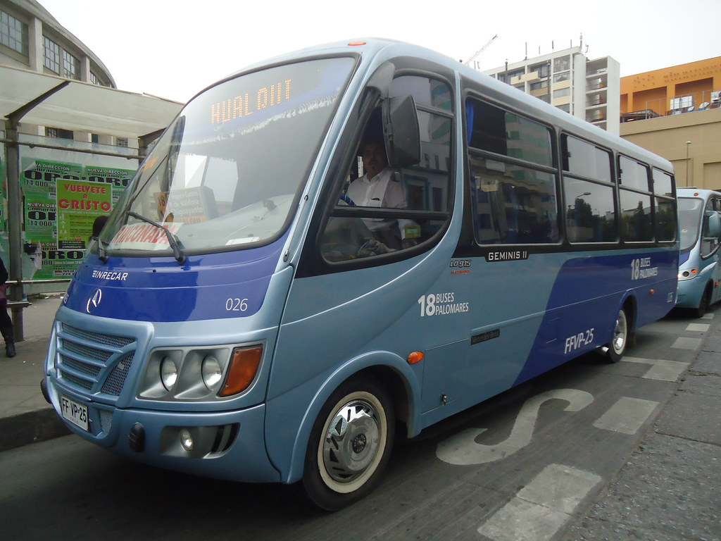 Resultado de imagen para Línea 18 buses palomares