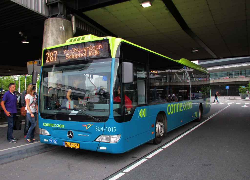 connexxion tcr bus 1015 504 amsterdam schiphol airport flickr. Black Bedroom Furniture Sets. Home Design Ideas