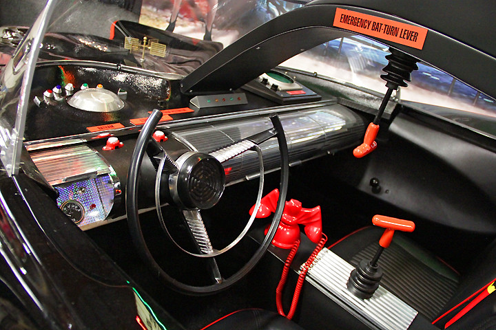 1966 Batmobile Interior