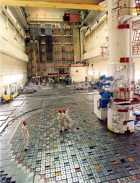 Inside Chernobyl nuclear power plant | Construction of the ...